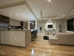Modern Kitchen Living Kitchen Design Floorboard Galley Kitchen Design In Modern Living