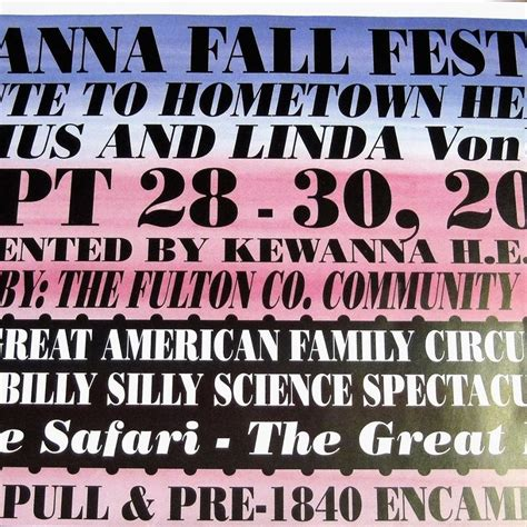 Kewanna Fall Festival - Home | Facebook