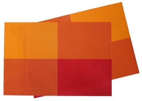 modern vinyl placemats oval placemat u2013 set of 12 violet linen vinyl lace