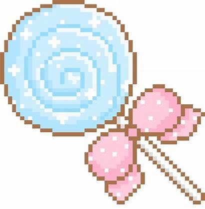 Kawaii Transparent Pixels Pixel Candy Photoset Gifs