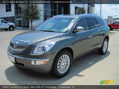 Buick Enclave Cx by Gray Green Metallic 2010 Buick Enclave Cx