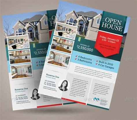open house flyer templates word psd ai eps vector