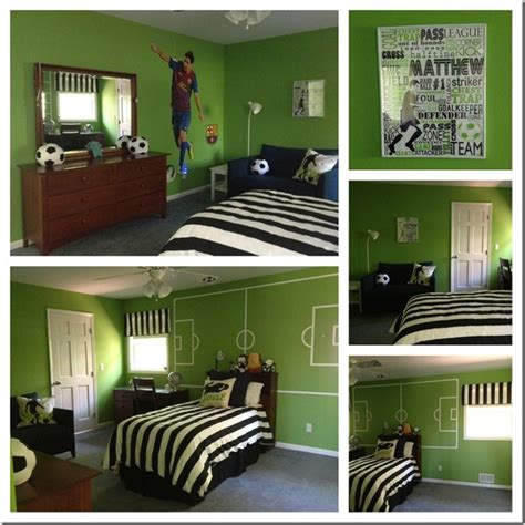 chambre theme decoration chambre theme football