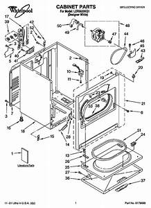 Whirlpool Ler5620kq1 Electric Dryer Parts And Accessories At Partswarehouse