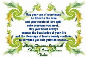 Merry Christmas Poems - The Wondrous Pics