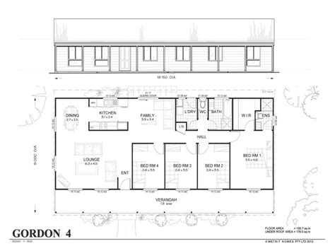 4 house plans affordable 4 bedroom house plans 4 bedroom metal home