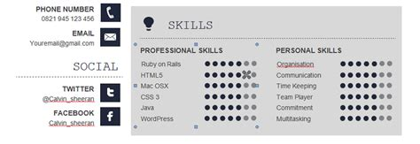 Pm Resume Sle by Primary And Secondary Skills For Java Developer The Best