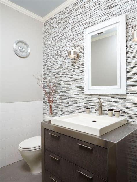 gray  tone   full wall  splash  tile
