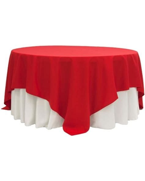90 x 90 square tablecloth 90 x 90 quot square overlay tablecloth 7389