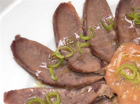 cuisiner langue de boeuf ce qu une demi langue de bœuf peut faire deux façons