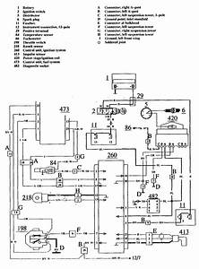 Volvo 740  1990 - 1991  - Wiring Diagrams - Ignition