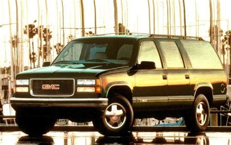 gmc suburban  sale pricing features edmunds