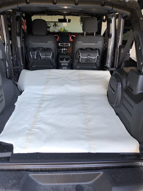 sleeping pad   jl unlimited page   jeep