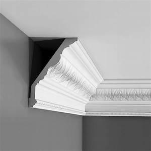 Corniche Polystyrène Pour Plafond : corniche moulure de plafond luxxus orac decor pour deco ~ Premium-room.com Idées de Décoration
