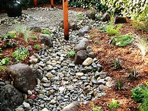 How to Install a Dry Creek Bed how-tos DIY