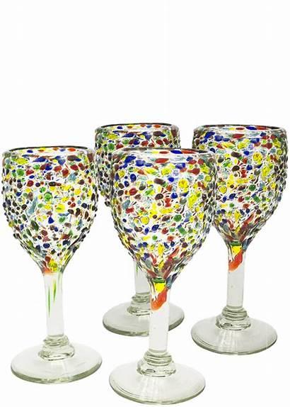 Wine Bambeco Glass Confetti Glasses Total Glassware