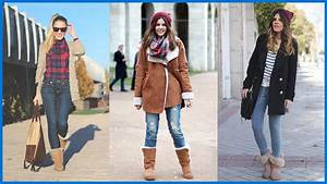 How to Wear Ugg Boots - Outfit Ideas - YouTube