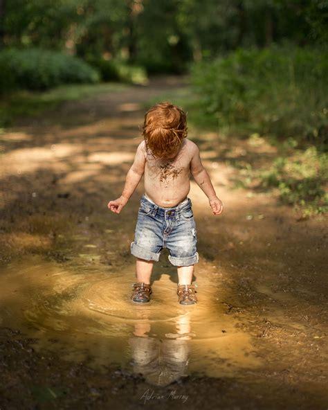 photographer documents  children enjoying idyllic