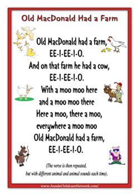 printable macdonald had a farm farm animals unit 641 | d8fc25b2795d596311e9af0cf87ab64e
