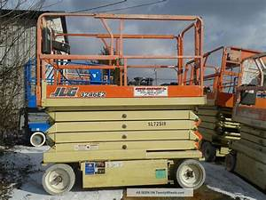 Jlg 3246e2 Electric Scissor Lift Aerial Work Platform