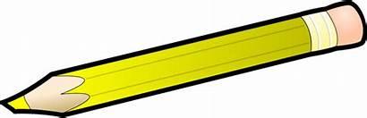 Pencil Yellow Clipart Cliparts Clip Moroso Align