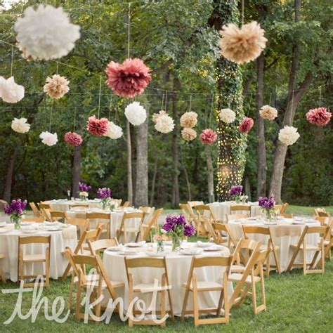 Outdoor Wedding Decorations by Whimsical Outdoor Reception Decor