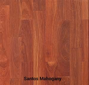 santos mahogany unfinished hardwood flooring hardwood