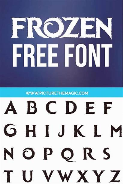 Frozen Font Cricut Fonts Let Disney Svg