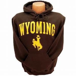 Traditional Wyoming Hoodie - Brown University of Wyoming