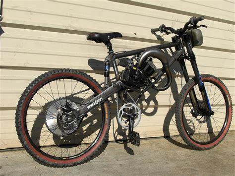 Full Suspension Motorized Mountain Bike
