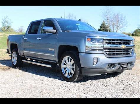2016 Chevrolet Silverado 1500 High Country 4x4 62l Slate