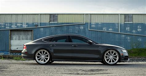 audi a7 fantastic audi a7 sportback gets new shoes modded euros