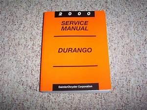 2000 Dodge Durango Shop Service Repair Manual Sport Slt R
