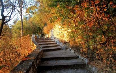 Stairs Background Stairway Wallpapers 7d Fall Stone