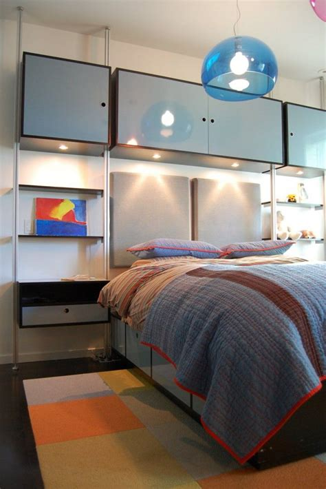 Bedroom Decorating Ideas For 11 Year Olds by Modern 12 Year Boys Bedroom With Blue Bed And Storage