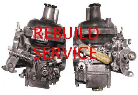 Purchase Zenith Stromberg Rebuilding Service Lotus 907
