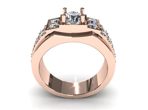 wedding ring made from car parts man wedding diamond ring 3d 3d printable stl 3dm cgtrader com