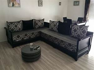 Banquette Marocaine Moderne : tables salon marocain salons marocains ~ Dode.kayakingforconservation.com Idées de Décoration