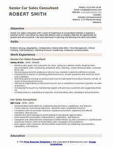 Special Skills And Abilities For Resume Car Sales Consultant Resume Samples Qwikresume