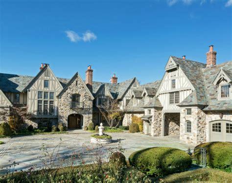 million english tudor stone mansion  kings point ny