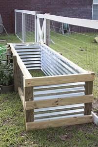 How, To, Build, A, Modern, Diy, Garden, Box
