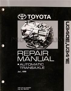 2000 Toyota Celica Repair Shop Manual Reprint Volume 1