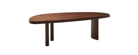 table perriand 525 table en forme libre table by perriand cassina