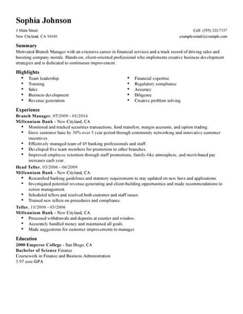 accounting payable clerk job description branch manager resume examples examples livecareer