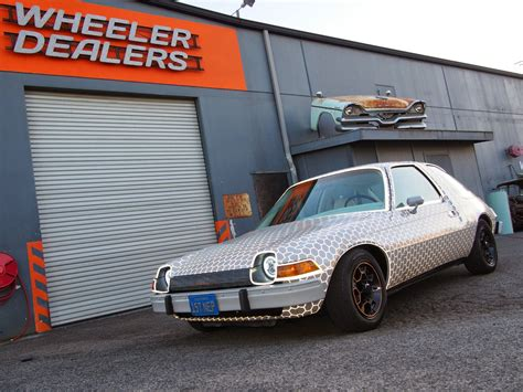 watched  amc pacer episode  wheeler dealers
