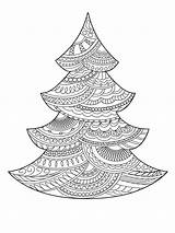 Christmas Tree Pages Coloring Printable Holiday Colors Recommended sketch template