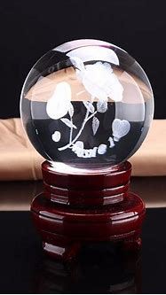 Hot Sale Personalized 3d Laser Engraving Crystal Ball With ...