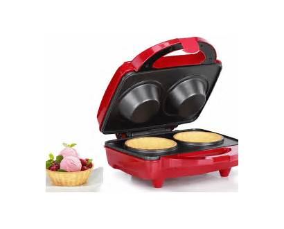 Waffle Bowl Maker Holstein Cookinggizmos