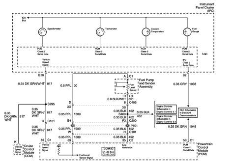 Fuel Sending Unit Wiring Diagram Pcm Instrument