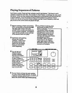 Alesis Sr-16 Quick Start Manual